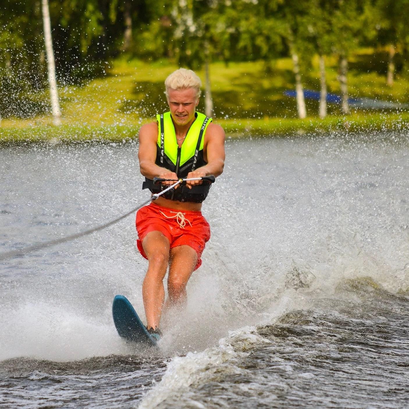 Man kan allt ha bra skojj på sjön!