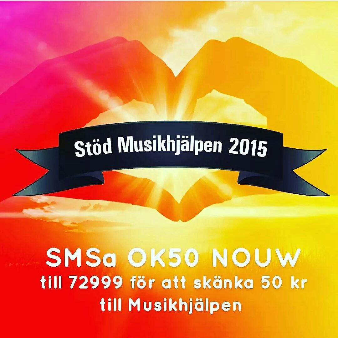 Stöd Musikhjälpen 2015