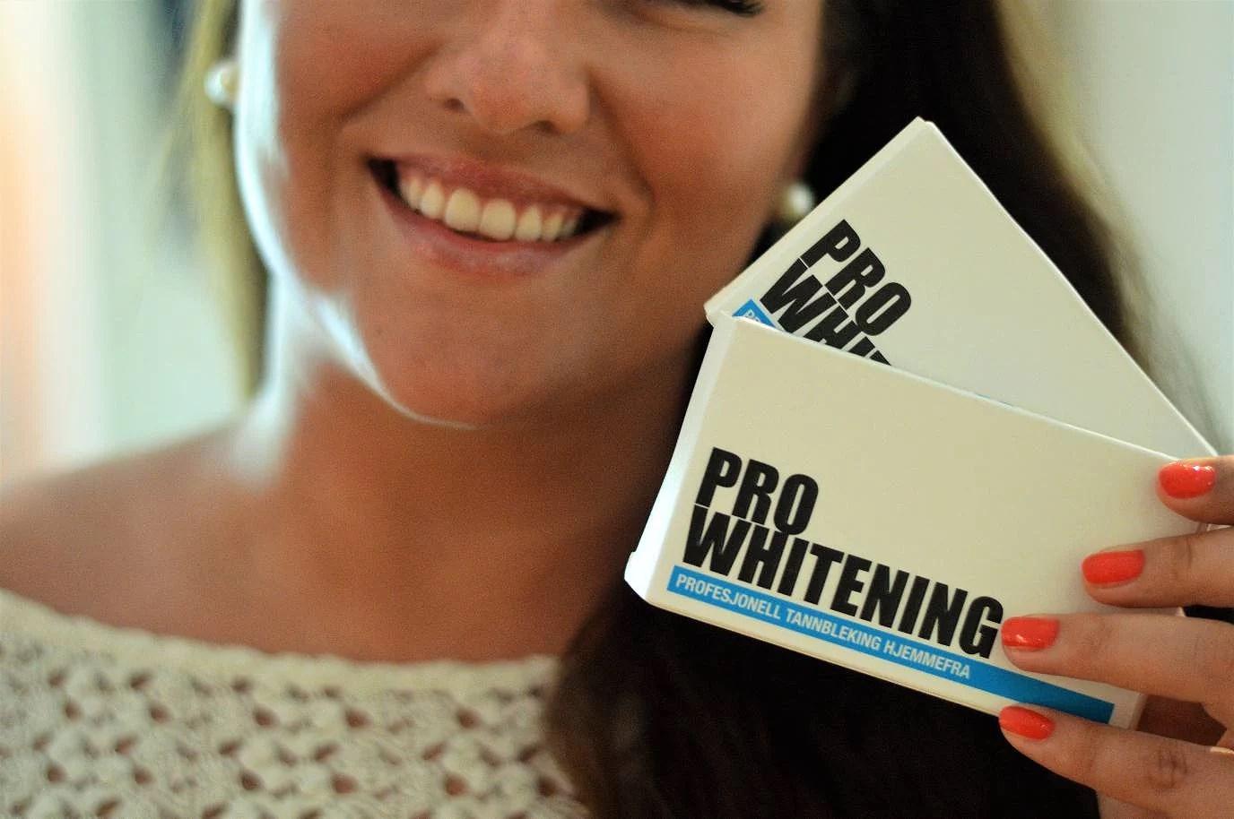 Testing av tannbleking fra ProWhitening.no