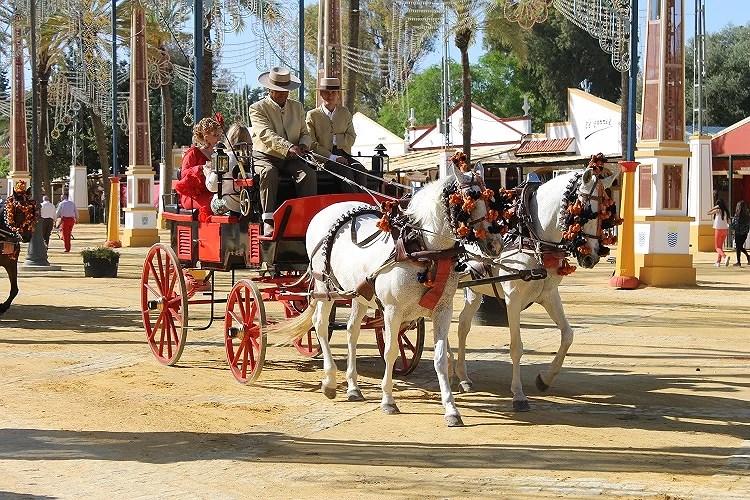 Una experiencia inolvidable en la famosa Feria del Caballo de Jerez.
