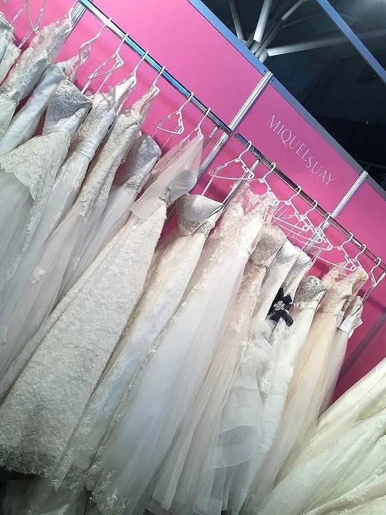 Showroom de Miquel Suay en la Bridal Week 2015 de Barcelona