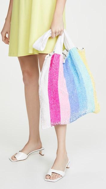 Retrofete Sequin Tote Bag