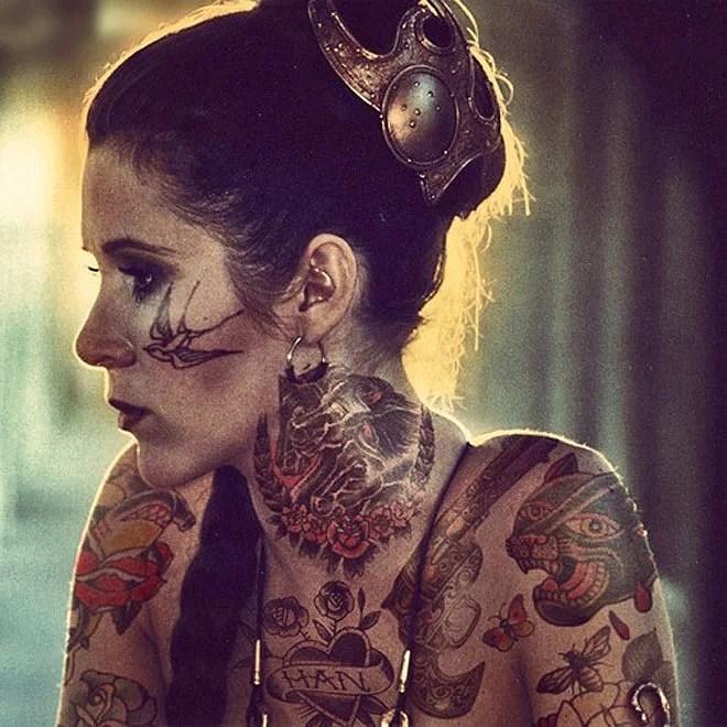Tatuerade politiker