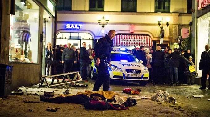Terrordåd i Stockholm