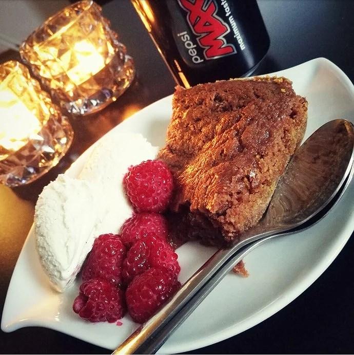 Vegansk brownie istället för kladdkaka