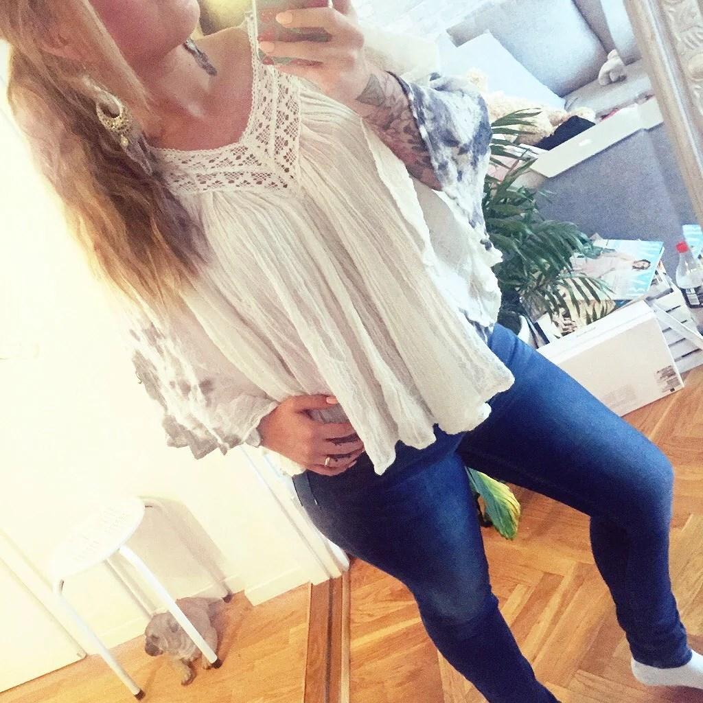 Dagens outfit bringar sommarkänsla