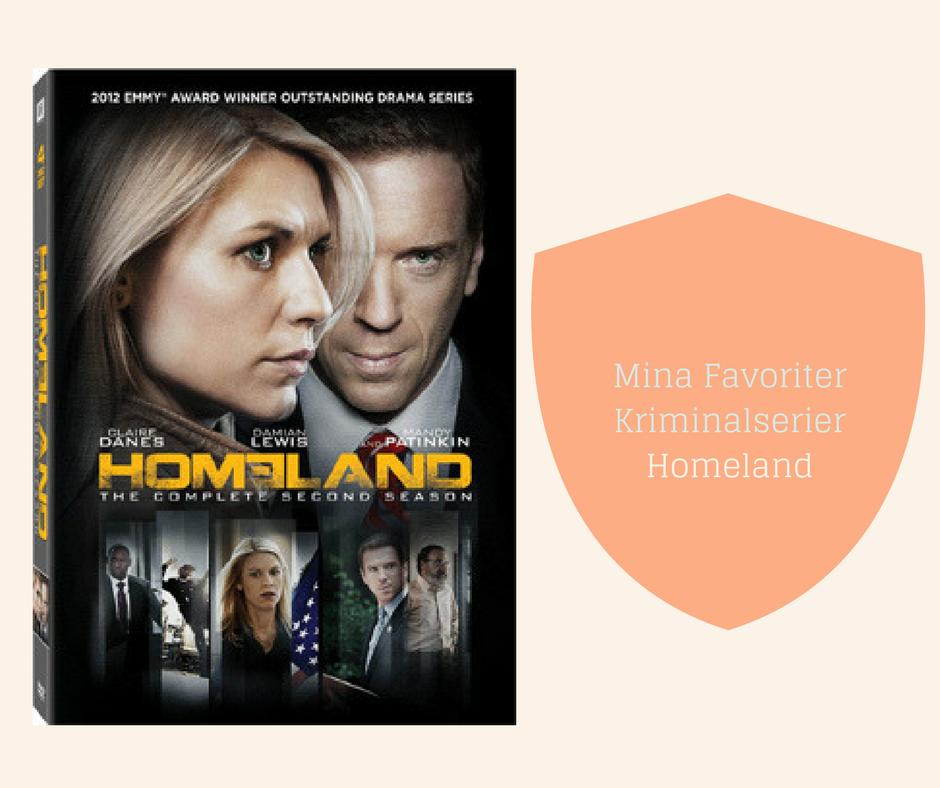 Mina Favoriter - Kriminalserier - Homeland