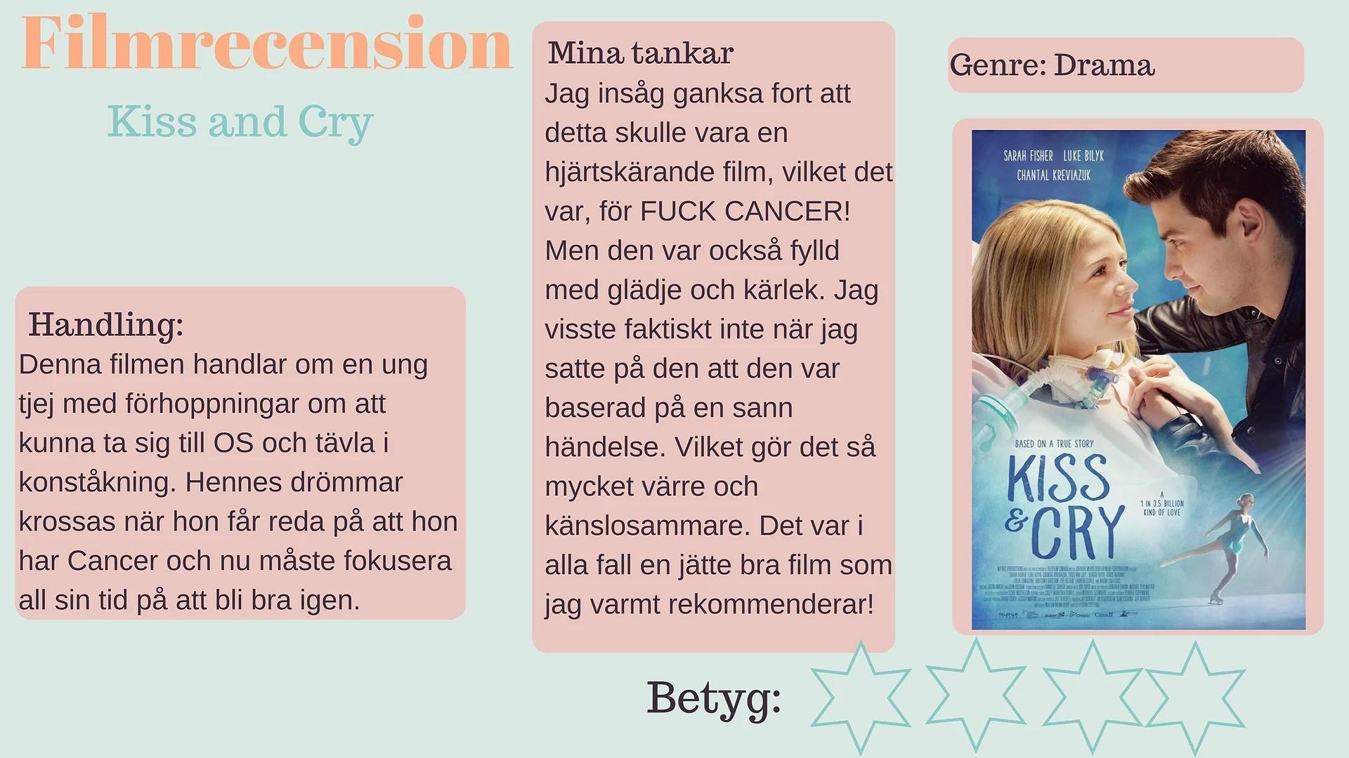 Filmrecension - Kiss & Cry