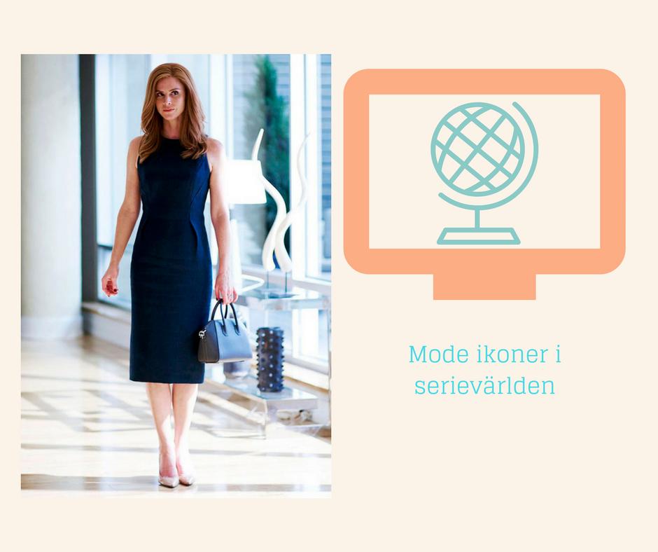 Mode Ikoner i Serievärlden - Donna Paulsen