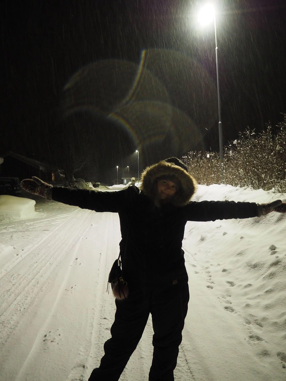 Lycka är... snö och Dalarna!