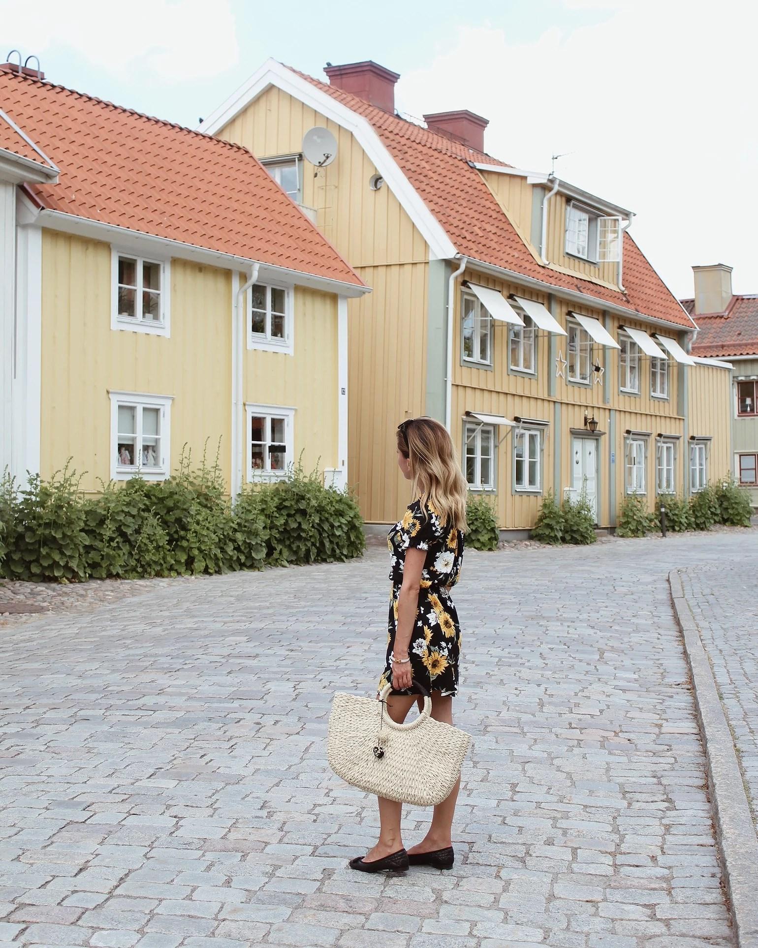 En mysig sommarstad i Sverige <3