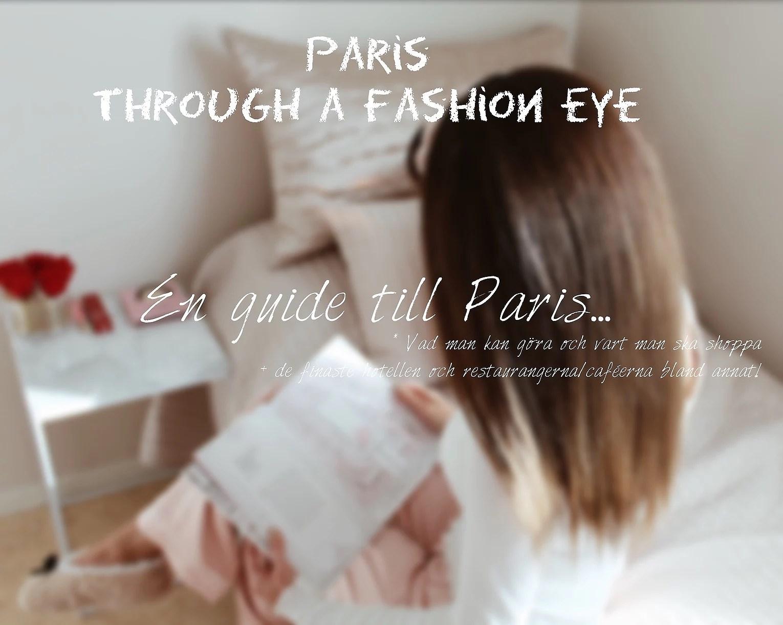 Through a fashion eye