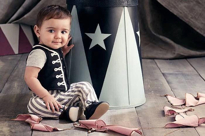 Märkesfokus; Baby Exclusive Circus collection från H&M