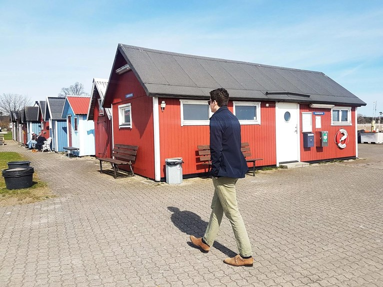 Ludvig i Abbekås hamn