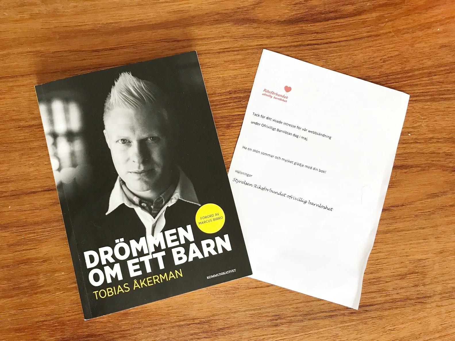 Jag fick en bok!