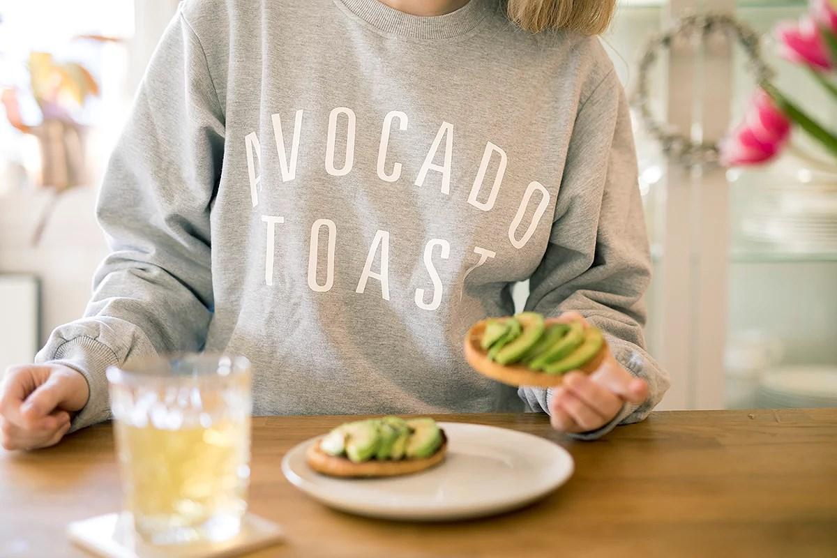 krist.in avocado toast frokost helg