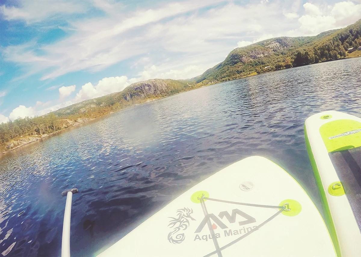 krist.in hyttetur fundingsland paddleboard sommer