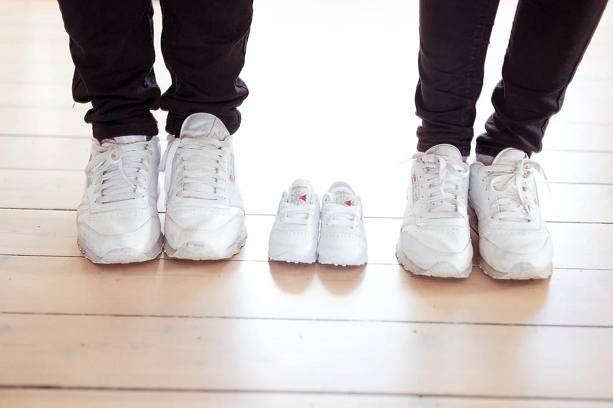 krist.in baby innkjøp sko reebok sneakers