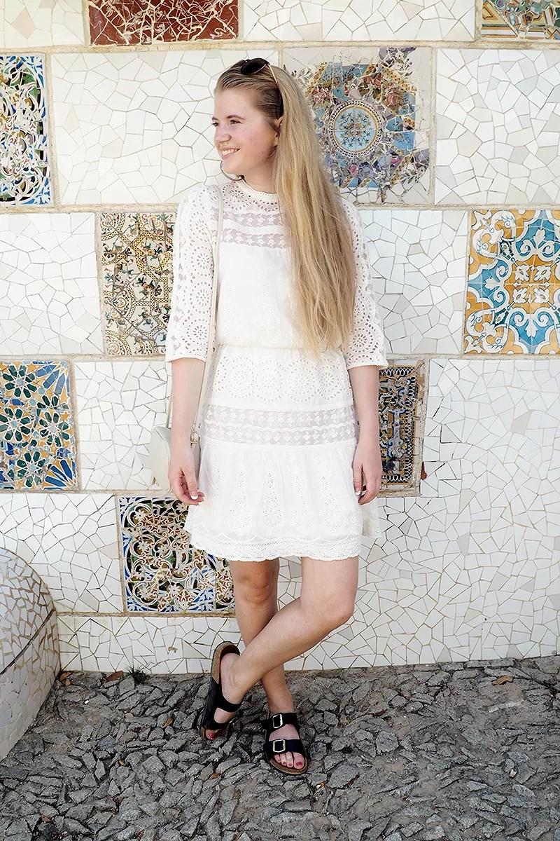 krist.in style blondekjole veromoda summer style
