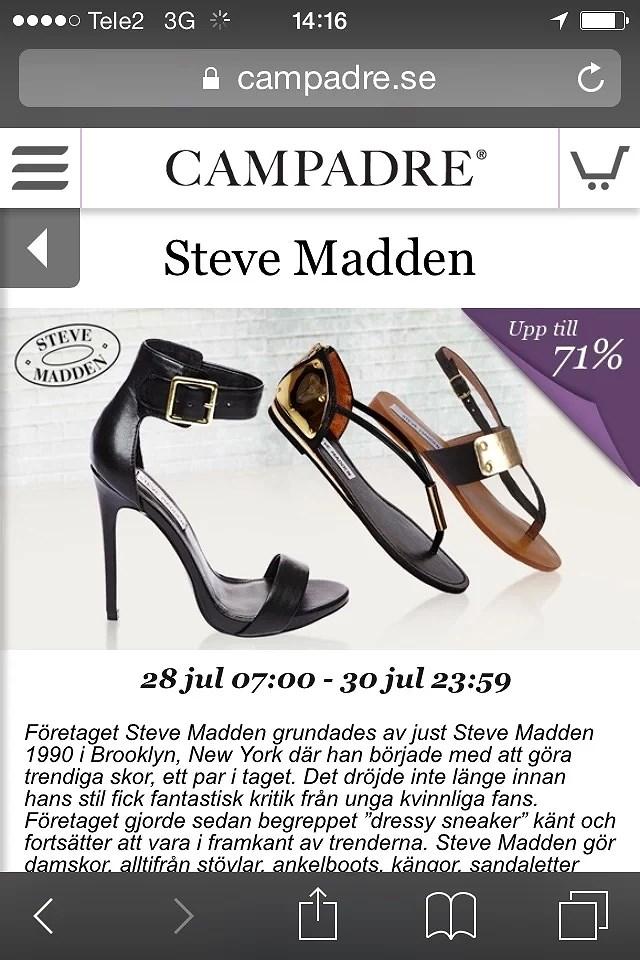 Campadre Steve Madden 71% rabatt!   Enitalienareisverige.se