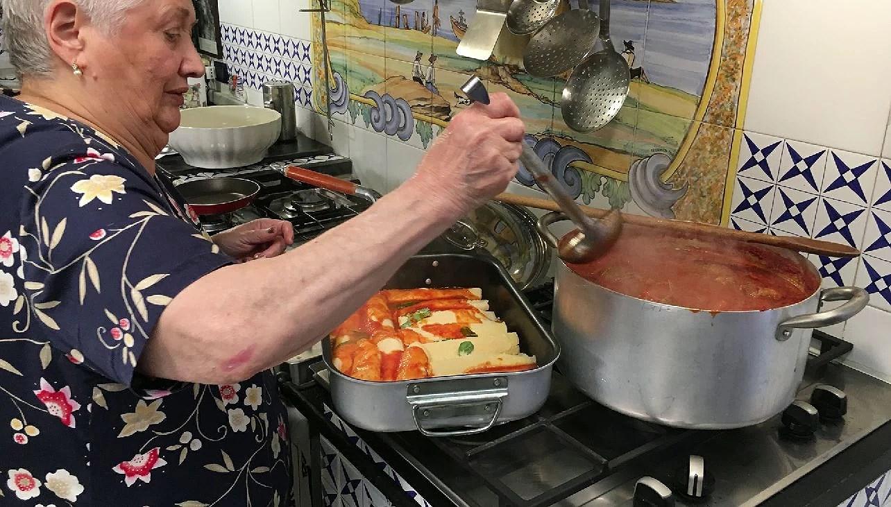Nonne ai fornelli, farmor/morfar vid spisen i Italien