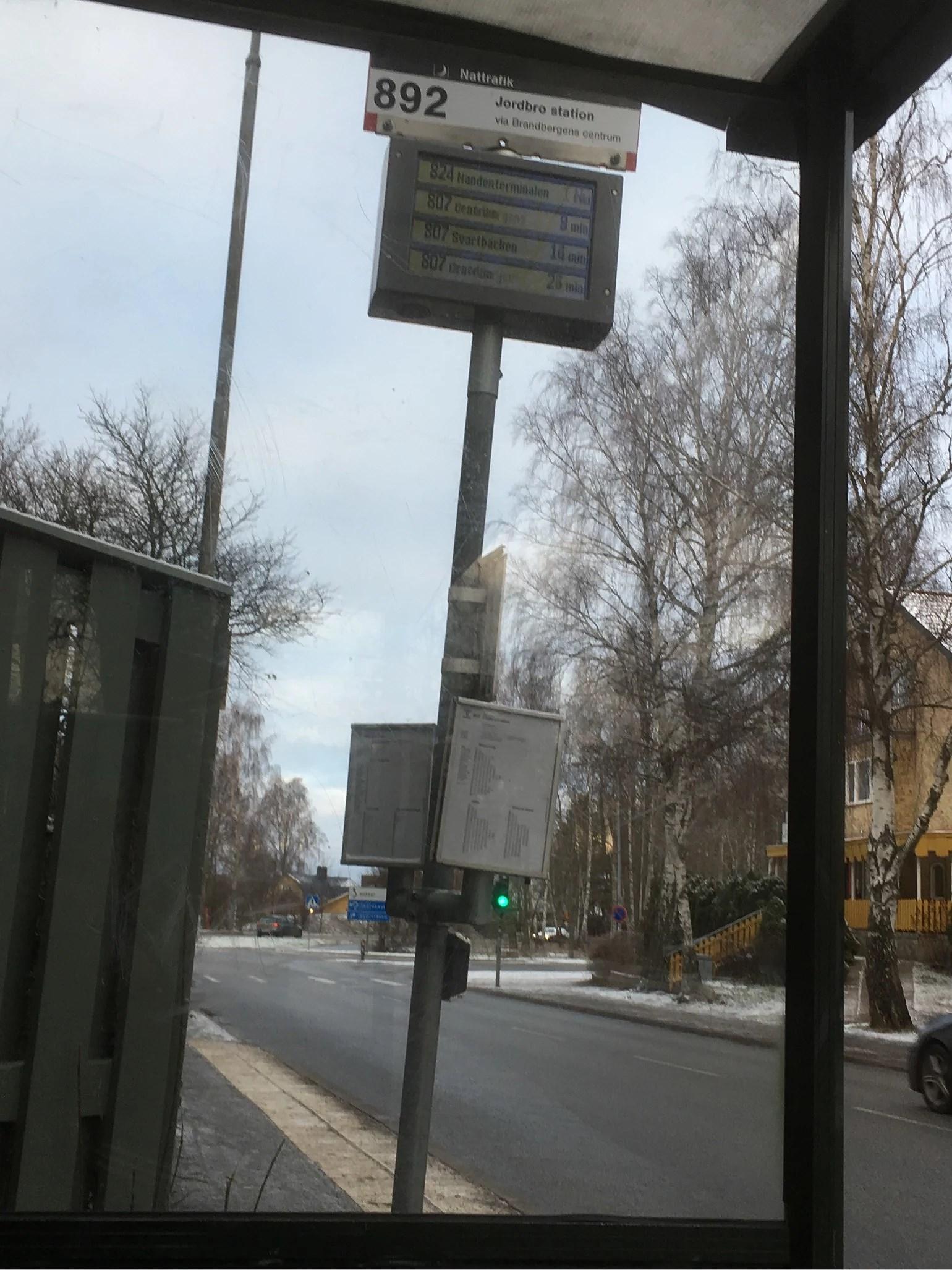 Att åka buss