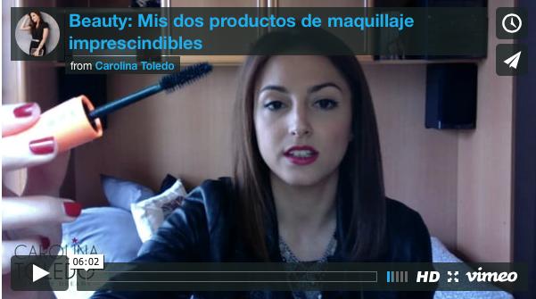 Video: Mis dos productos imprescindibles de maquillaje