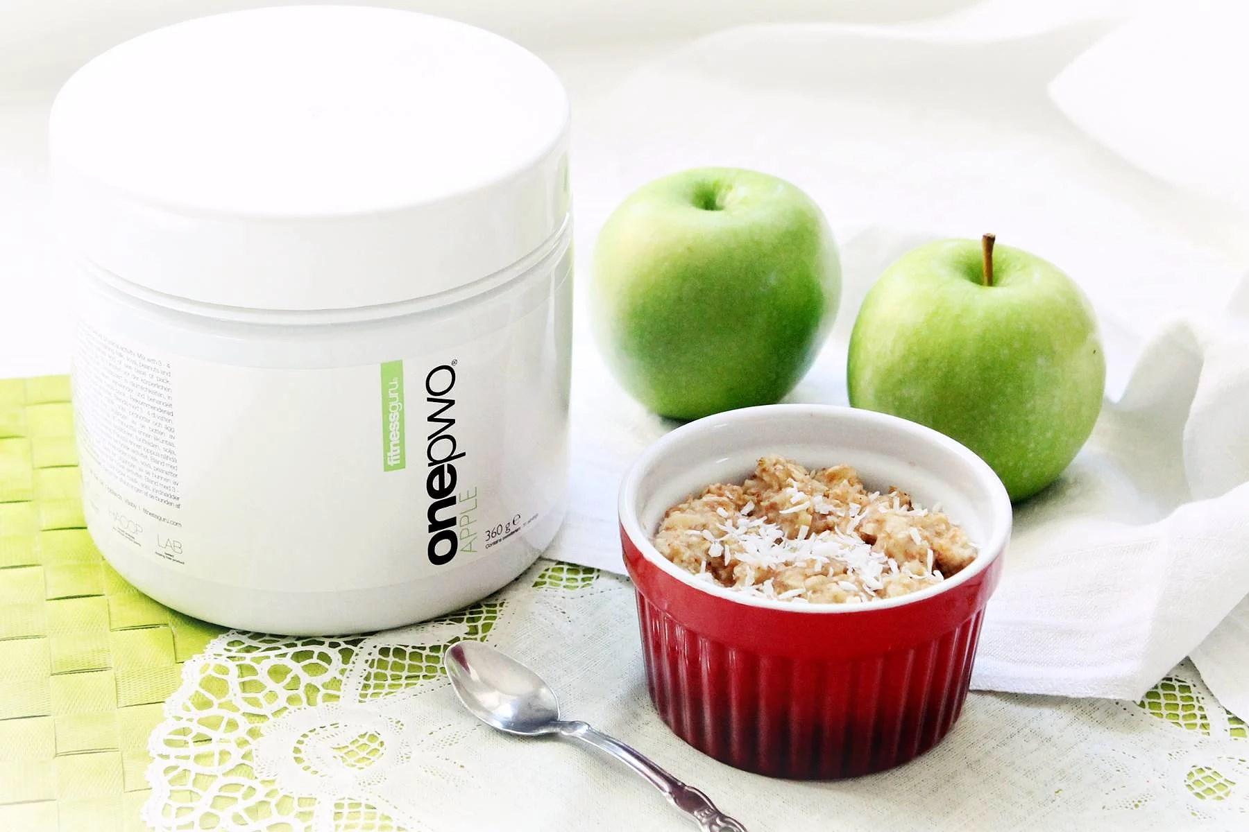 Apple Mug Cake and Fitnessguru Apple One Pwo