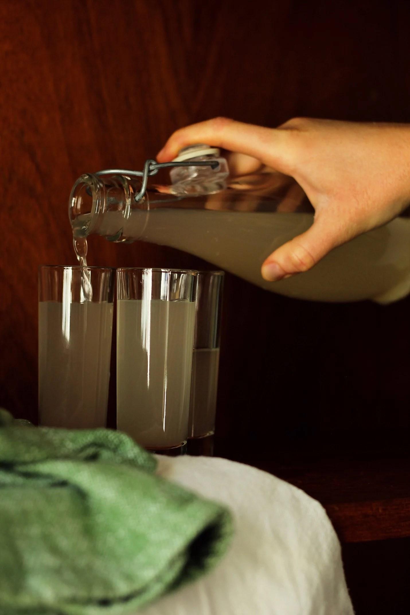 Ingefärsshot - recept med ingefära och citron