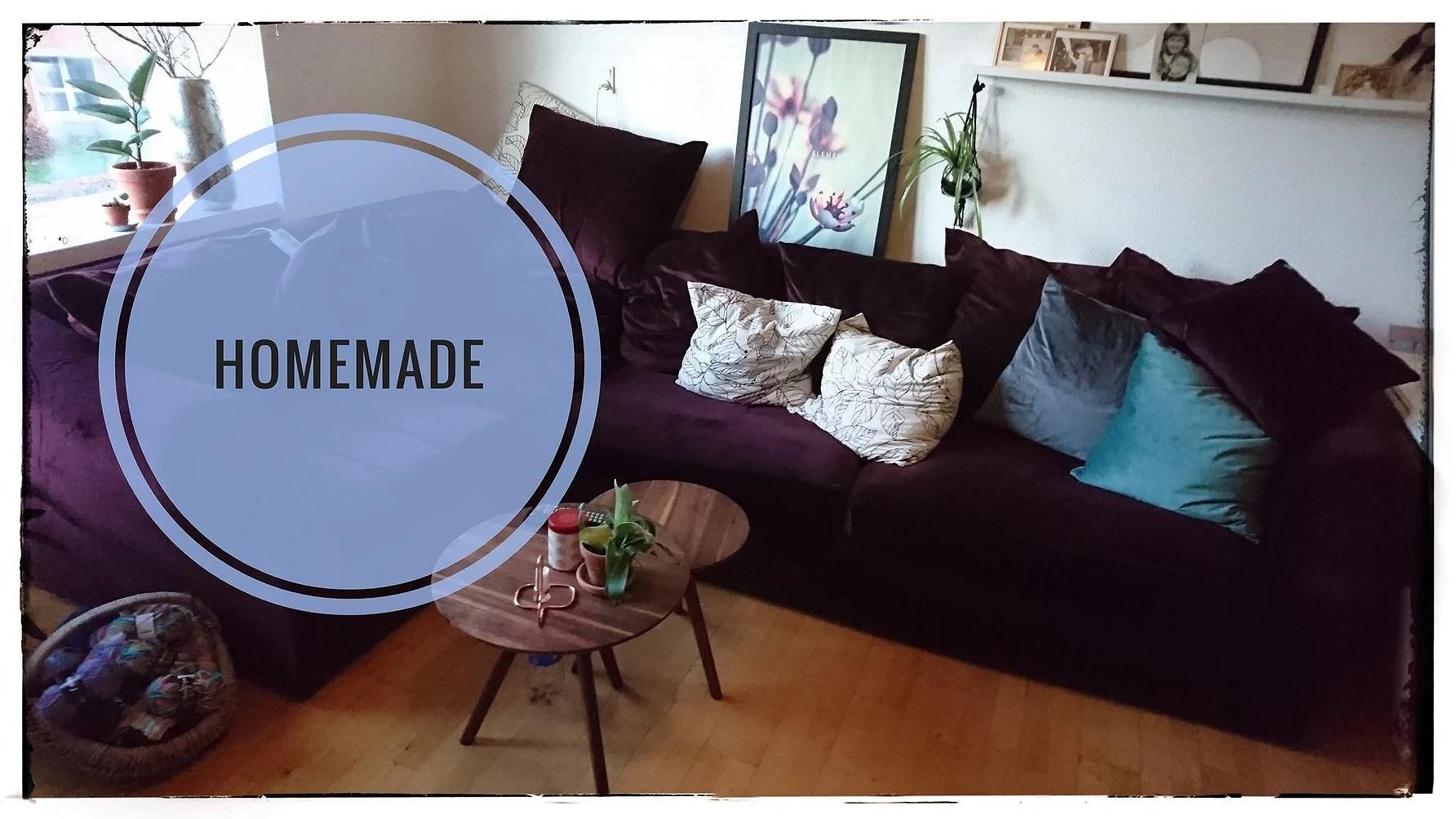Homemade ny sofa. Sådan næsten ihvertfald.