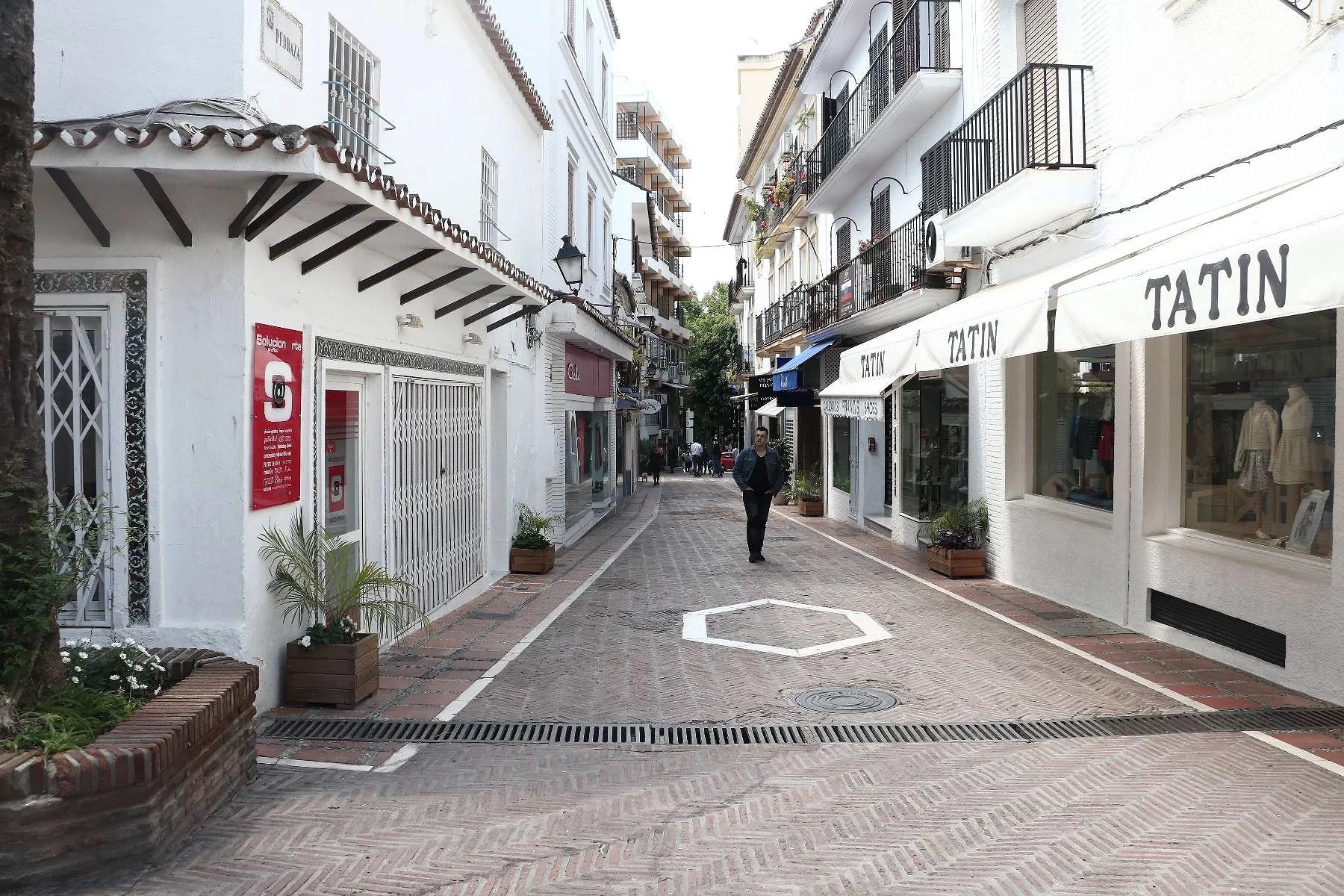 """Gamla Marbella """"Old town""""."""
