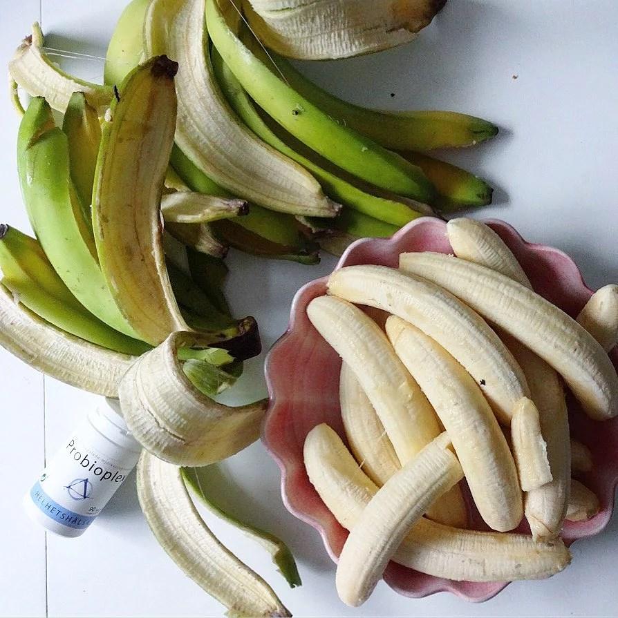 Gröna bananer...