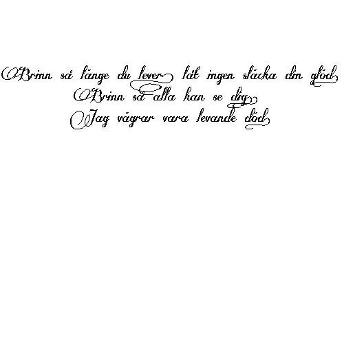 tatuering på engelska