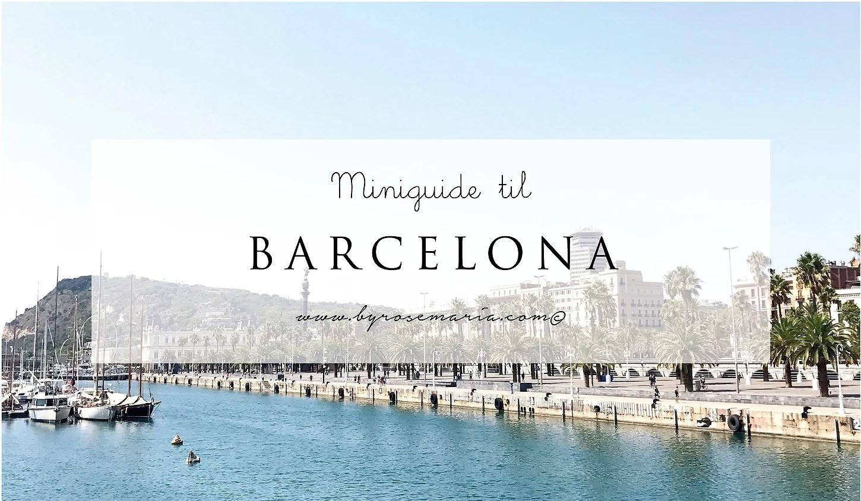 Mini-guide til Barcelona: 3 restauranter du skal kende