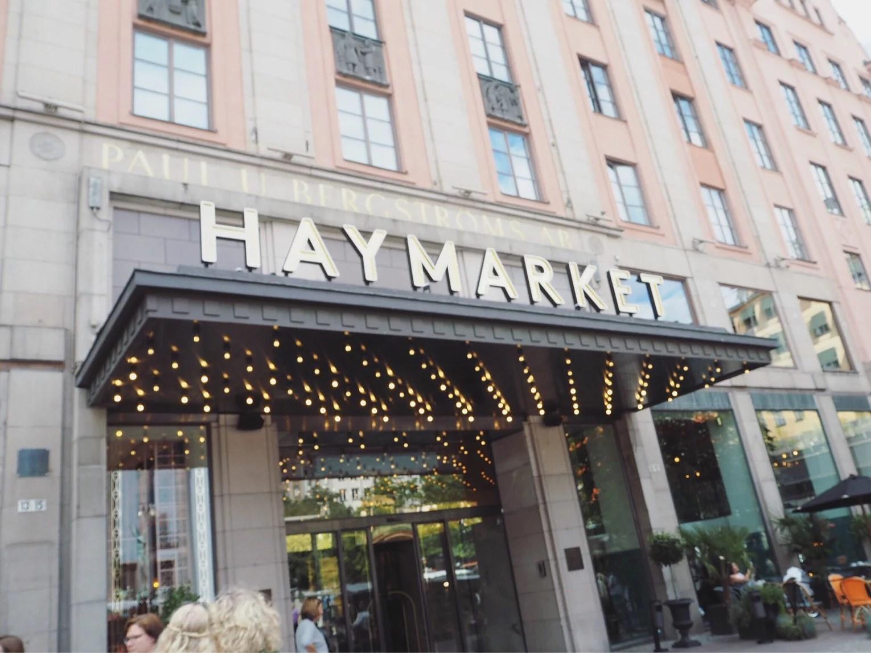 Färgstark Haymarket