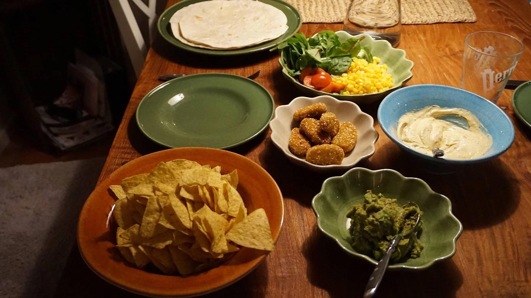 Mysiga måndag - taco night