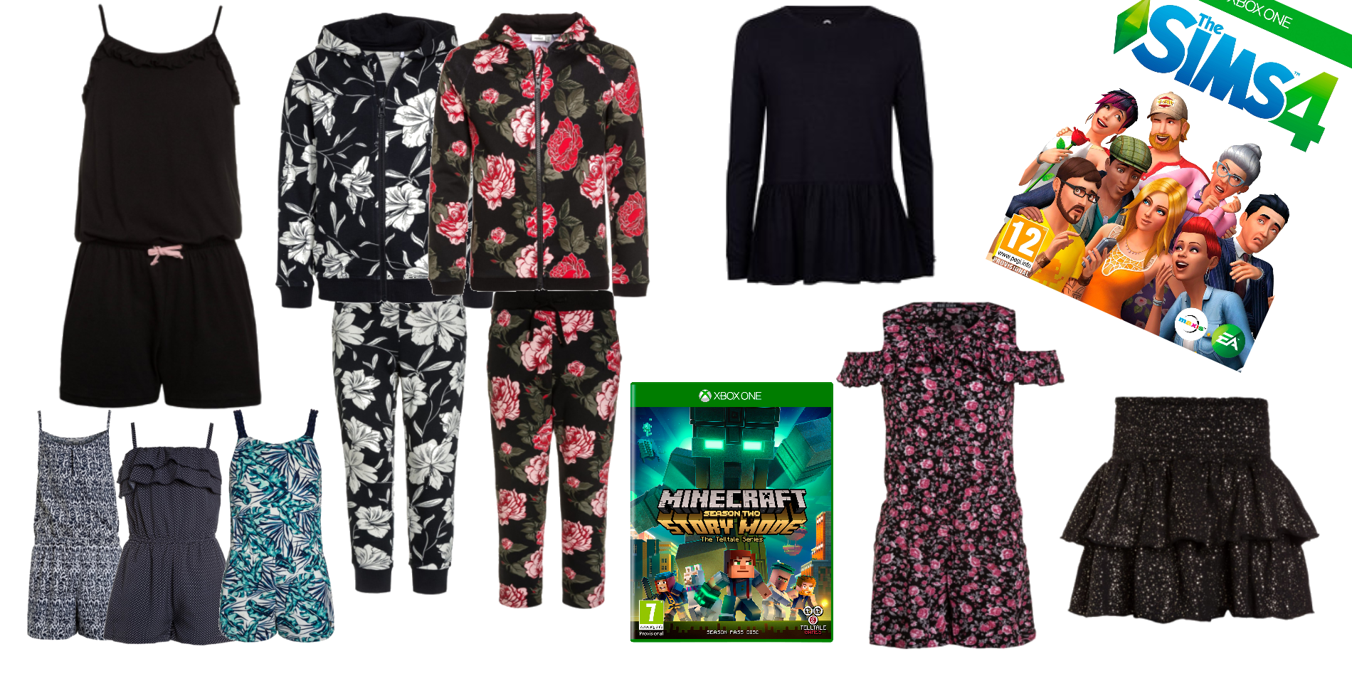 Jumpsuits and videogames.