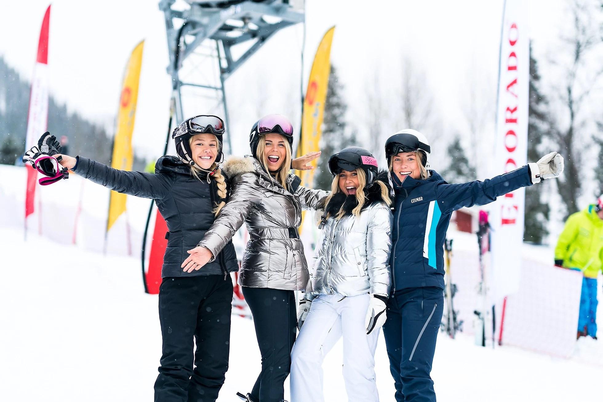 Vi är på skiweek i Åre