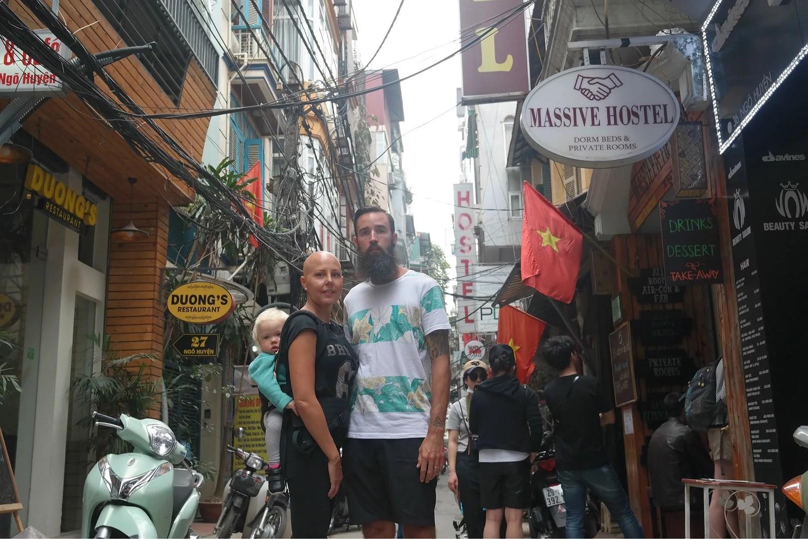 Fullt upp i Hanoi