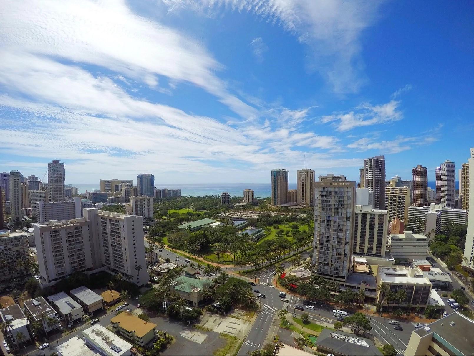 Hänger i Honolulu