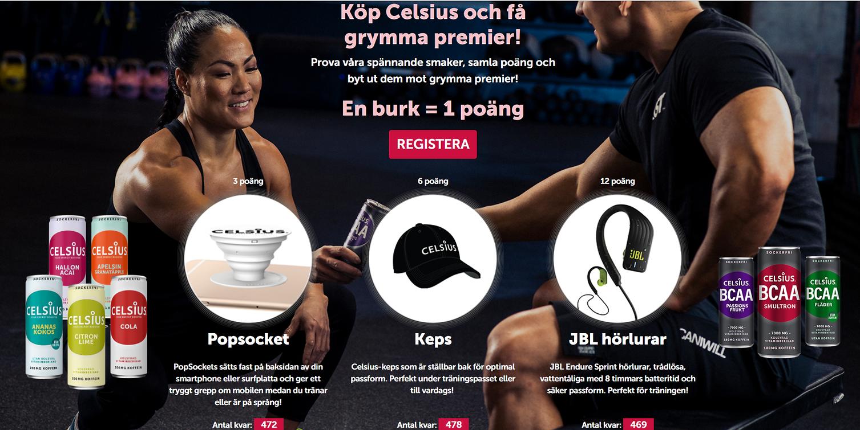 Celsius, köp och få kampanj