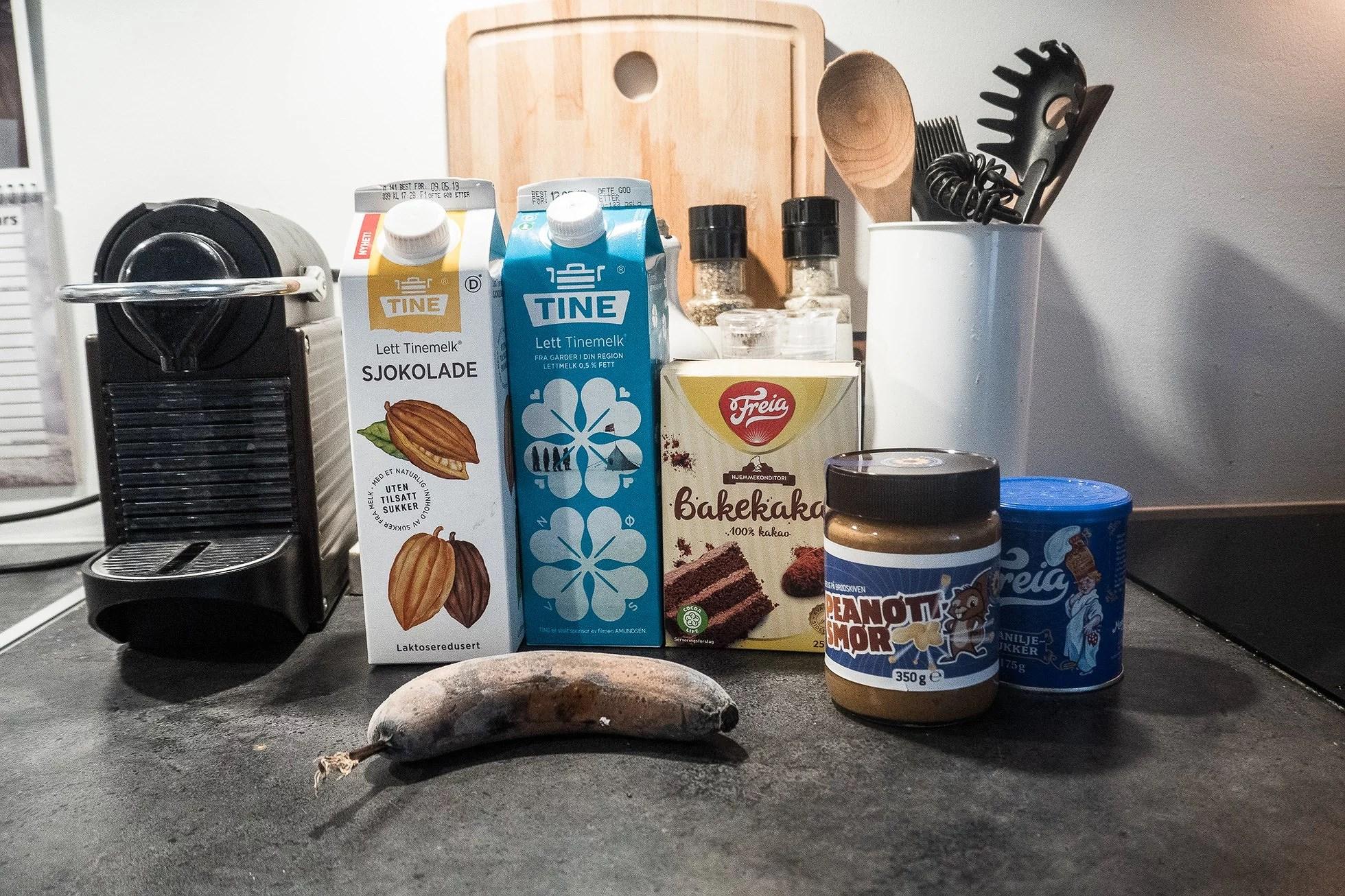 Sjoko smoothie
