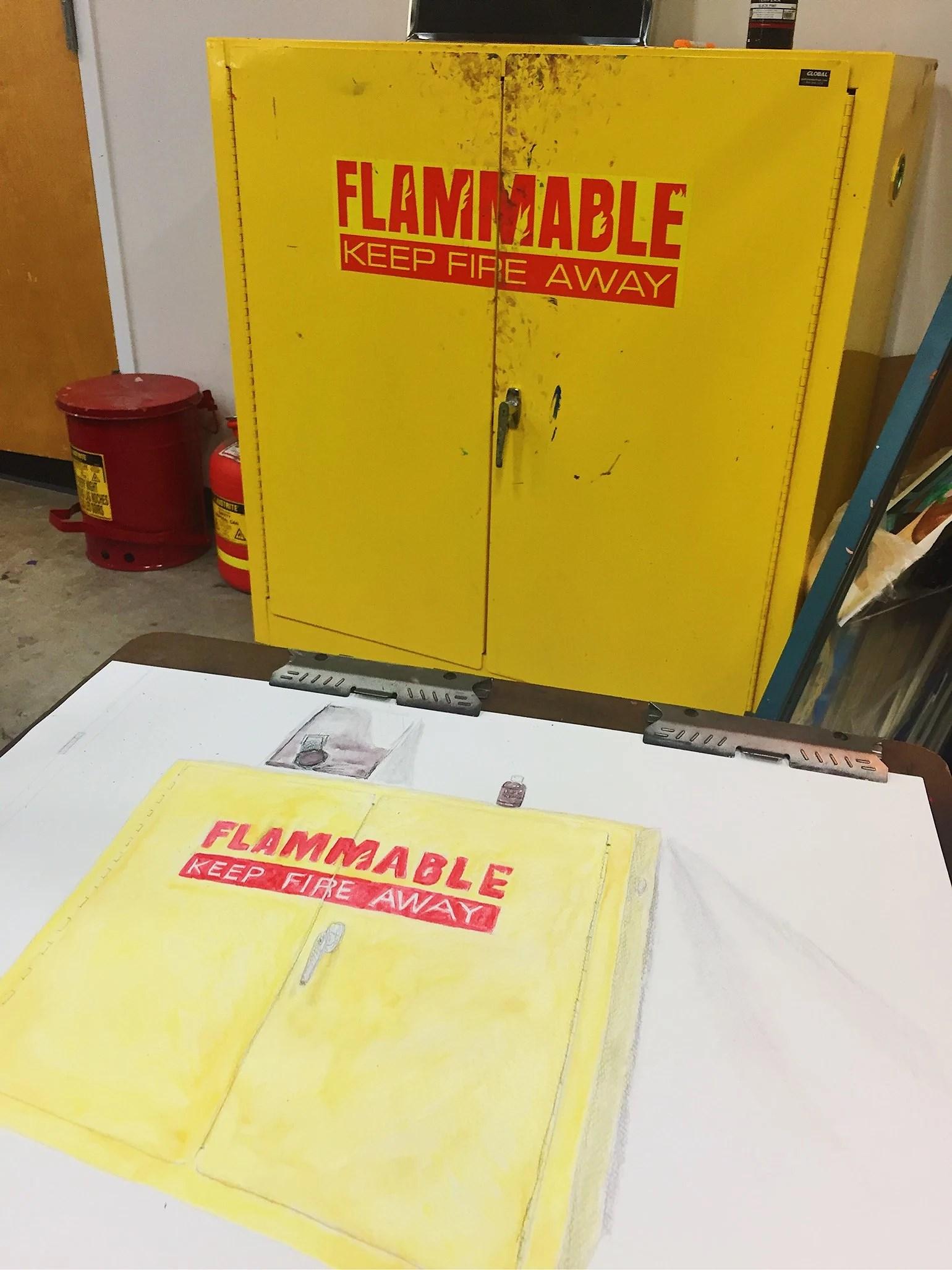 Flammable!