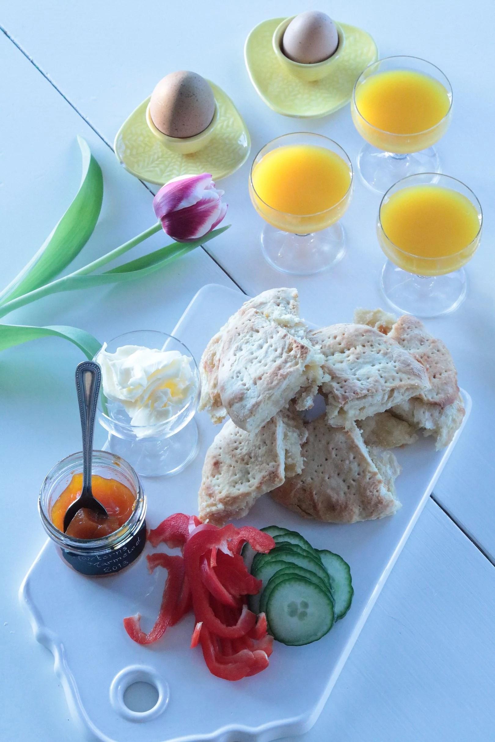 Frukostlyx och vår helg
