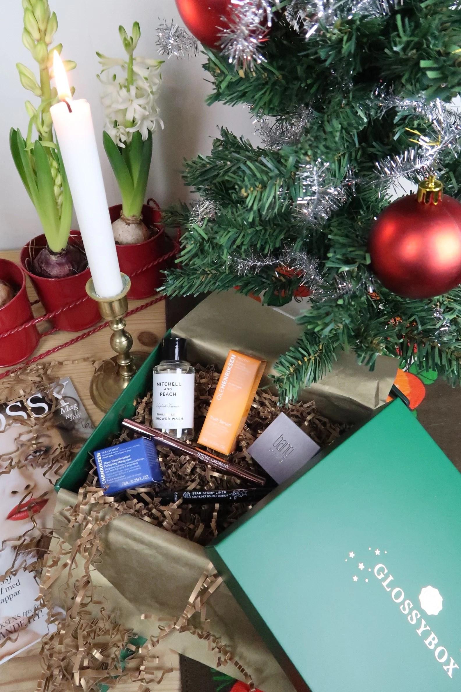 Månadens glossybox Christmas delight!