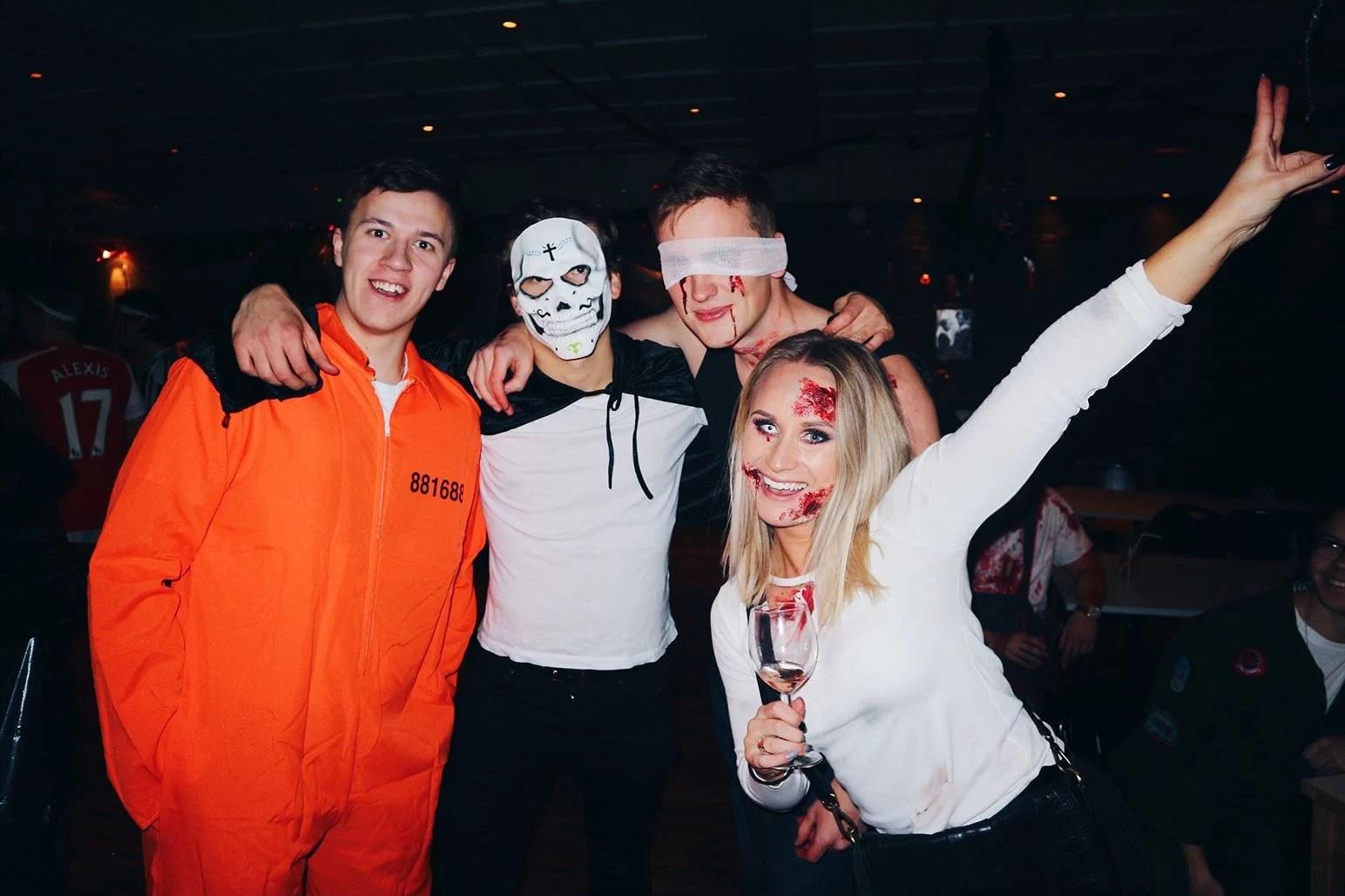 Tre till från halloween