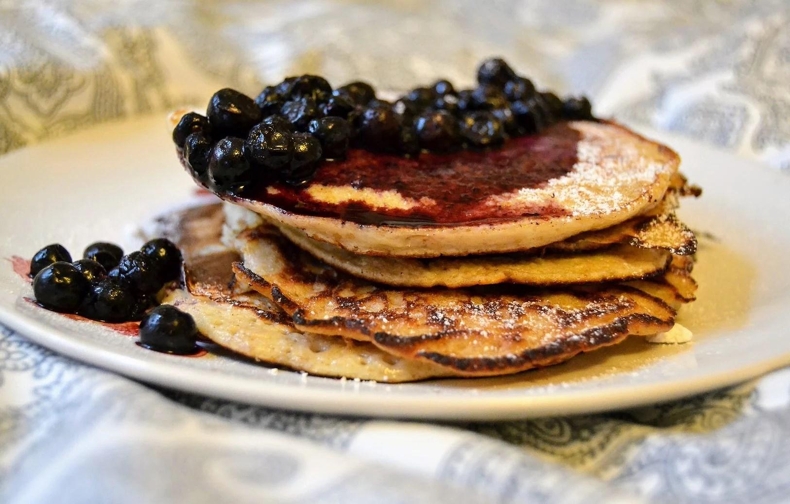Frukosttips - proteinpannkakor