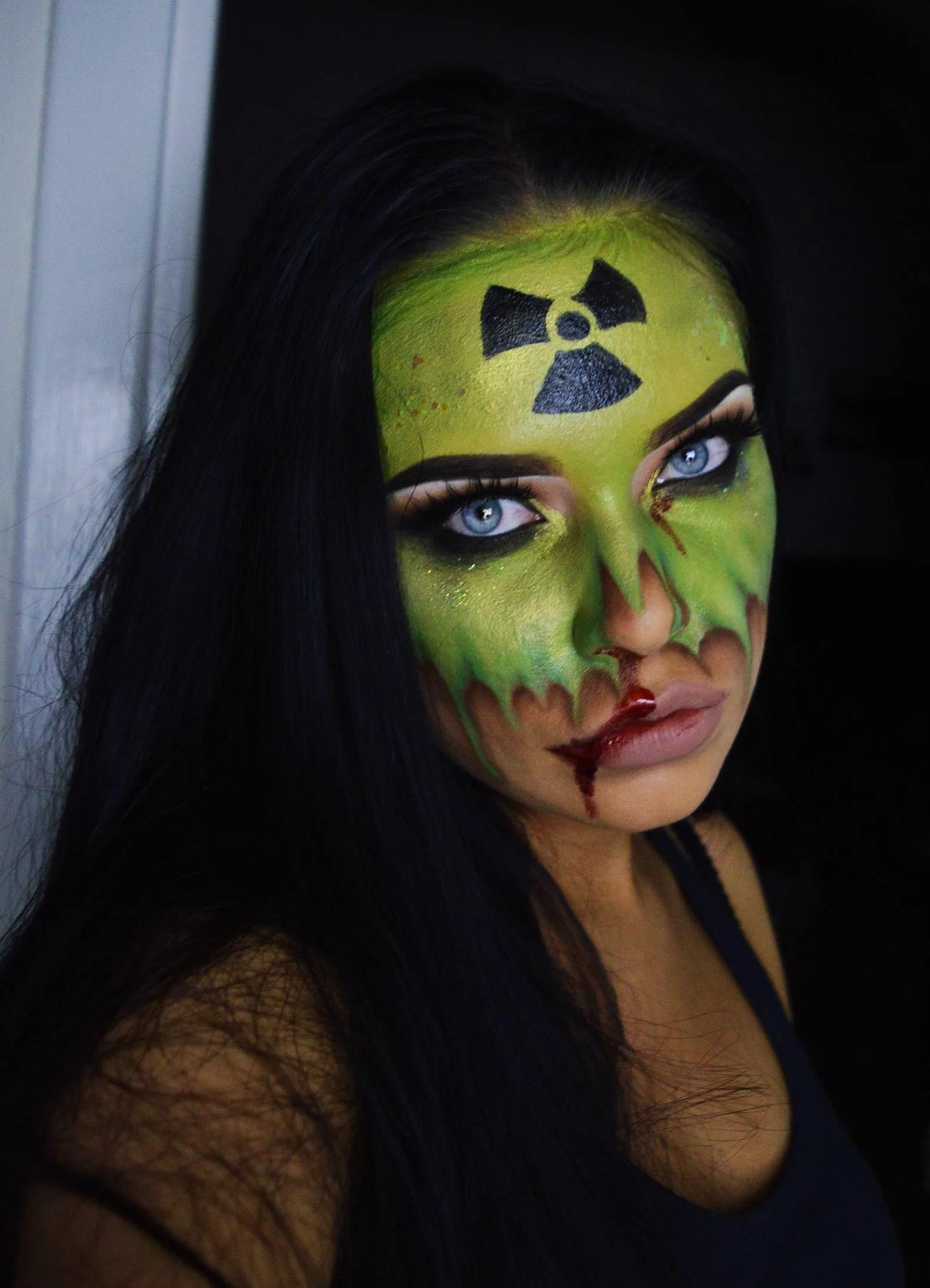 Halloween Make Up - Radioactive