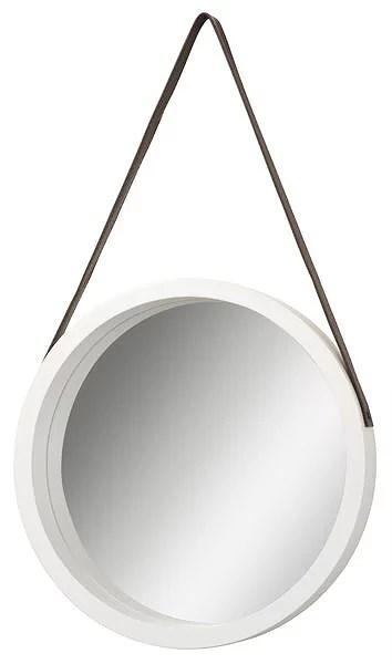 Spegel Med Läderrem Livarsson