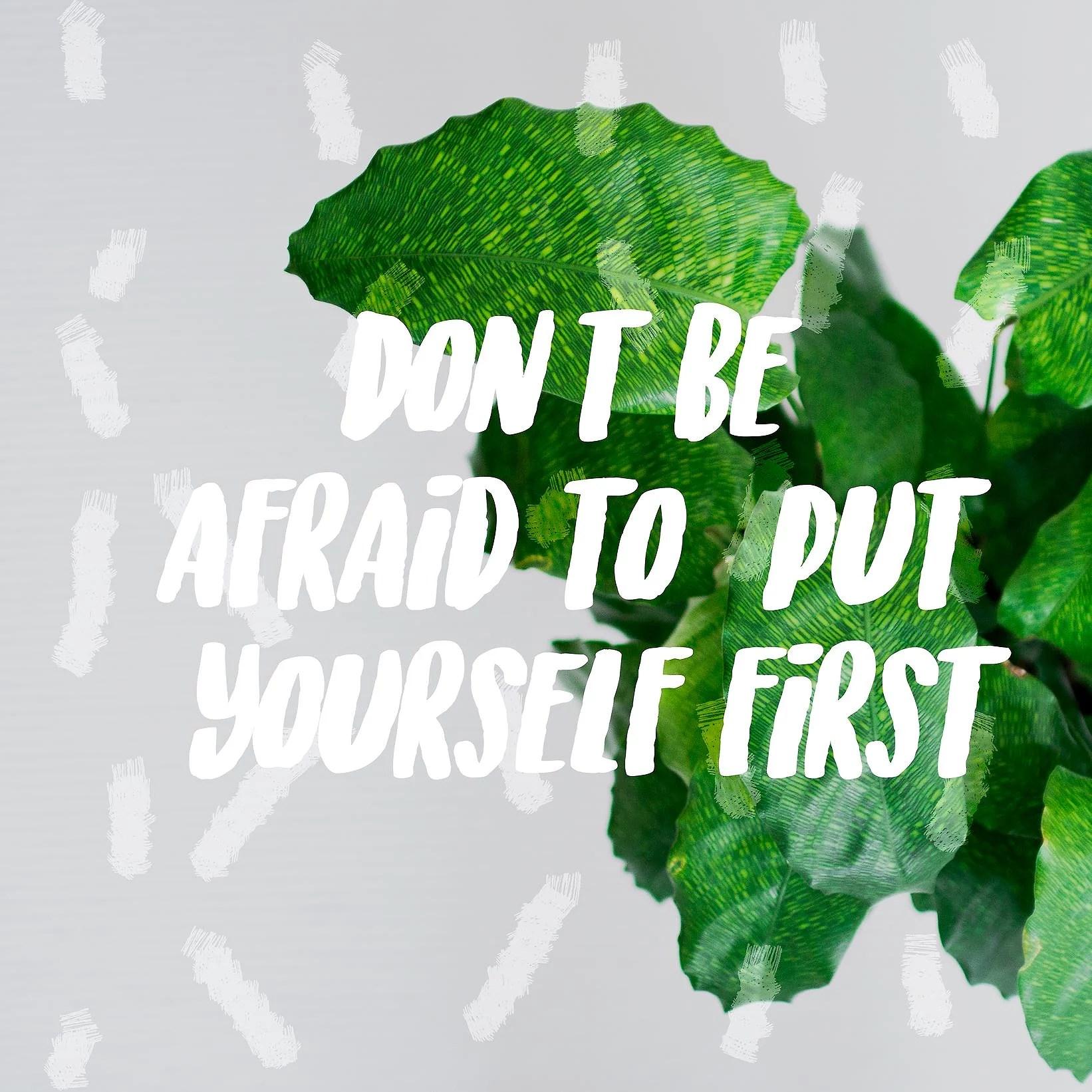 Det viktigaste du har är dig själv